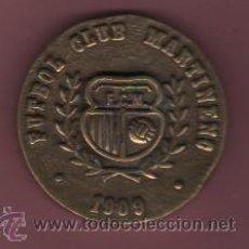 Coleccionismo deportivo: MEDALLA GRUESA DE LATÓN - 75 ANIVERSARIO FUNDACIÓN DEL FUTBOL CLUB MARTINEC 1909 1984. Lote 50477493
