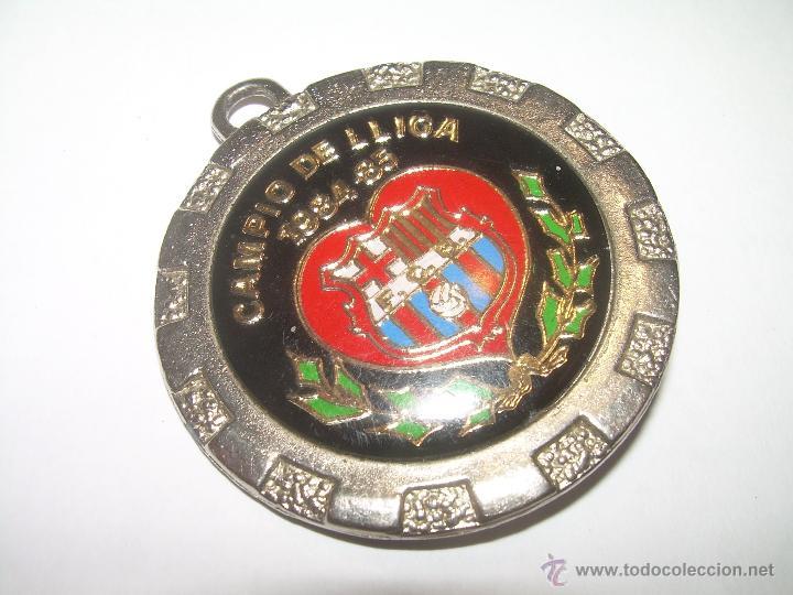 MEDALLA.....F.C. BARCELONA....CAMPIO DE LLIGA...1.984 - 85. (Coleccionismo Deportivo - Medallas, Monedas y Trofeos de Fútbol)