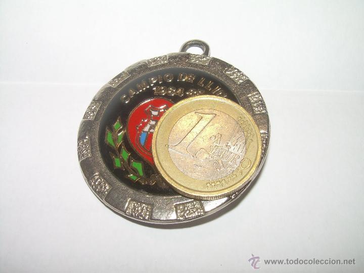 Coleccionismo deportivo: MEDALLA.....F.C. BARCELONA....CAMPIO DE LLIGA...1.984 - 85. - Foto 7 - 51587586