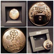 Coleccionismo deportivo: REPLICA OFICIAL DE LA MEDALLA DE ORO CAMPEONES UEFA EURO2012 SELECCIÓN ESPAÑOLA DE FÚTBOL. Lote 53267191