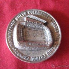 Coleccionismo deportivo: MEDALLA CONMEMORATIVA DE LA INAUGURACION DEL NUEVO COLOMBINO - DECANO FUTBOL ESPAÑOL 2001. Lote 52767533