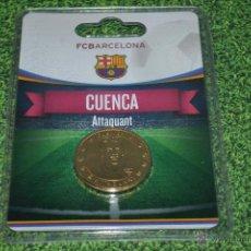 Coleccionismo deportivo: MONEDA DE METAL FC BARCELONA AÑO 2011 12 CUENCA. Lote 53448464