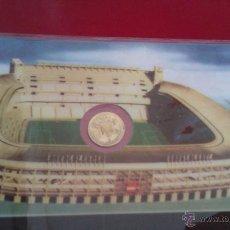 Coleccionismo deportivo: BONITA MONEDA PEQUEÑITA DE 100 PTAS 1980 CONMEMORATIVA AL MUNDIAL ESPAÑA 82 PLASTIFICADA. Lote 53480404