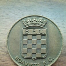 Coleccionismo deportivo: MEDALLA EN BRONCE DEL BOAVISTA F.C. PARTIDO CONTRA BENFICA.. Lote 54593645