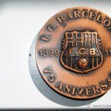 Coleccionismo deportivo: MEDALLA 75 ANIVERSARIO F.C.BARCELONA 1974. Lote 54705924