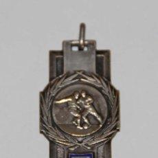 Coleccionismo deportivo: MEDALLA DE LA LIGA DE ORÁN (LIGUE D'ORANIE). PLATA Y ESMALTE. ARGELIA - FRANCIA. 1939. Lote 56136697