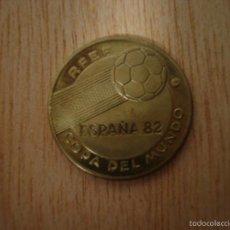 Coleccionismo deportivo: MONEDA CONMEMORATIVA COPA DEL MUNDO ESPAÑA 82 RFEF MUNDIAL DE FUTBOL 1982 - ITALIA CAMPEON 1934 1938. Lote 56540386