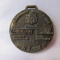 Coleccionismo deportivo: MEDALLA DEL F.C.BARCELONA. Lote 57125490