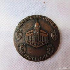 Coleccionismo deportivo: MEDALLA DE LA II EXPOSICION FILATELICA DE BARCELONA DE 1.962. Lote 57125585