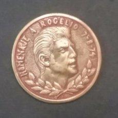 Coleccionismo deportivo: MEDALLA CONMEMORATIVA, HOMENAJE A ROGELIO 1974.(JUGADOR DEL REAL BETIS BALOMPIE).. Lote 57684599