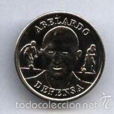 Coleccionismo deportivo: COLECCION OFICIAL MEDALLAS SELECCION AÑO 2000 ABELARDO DEFENSA. Lote 58092386