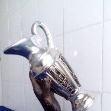 Coleccionismo deportivo: FORMIDABLE TROFEO DE FUTBOL 2 PIEZAZ SIN GRABAR / BUEN ESTADO. Lote 58441728