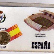 Coleccionismo deportivo: MONEDA OFICIAL CONMEMORATIVA MUNDIAL FÚTBOL ESPAÑA 82 ESTADIO JOSE ZORRILLA. VALLADOLID.. Lote 183472683