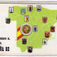 Coleccionismo deportivo: MONEDA OFICIAL CONMEMORATIVA MUNDIAL FÚTBOL ESPAÑA 82 XII CAMPEONATO DE FUTBOL. GRUPOS. Lote 60105315