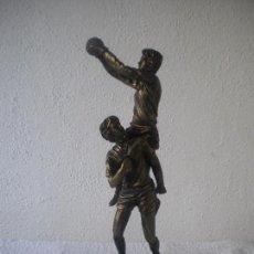 Coleccionismo deportivo: TROFEO HOMENAJE A SALVADOR SADURNI EX PORTERO DEL FCB 1994 S.QUINTI DE MEDIONA.VER FOTOS ANEXAS.. Lote 64070979