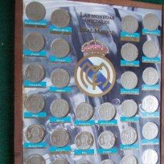 Coleccionismo deportivo: MONEDAS DEL REAL MADRID. Lote 64535939