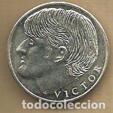 Coleccionismo deportivo: MONEDA DE PLATA 0,925 - VICTOR (REAL VALLADOLID 1996-97) - 5 GR. 25 MM DIAMETRO - NUEVA. Lote 65454358