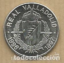 Coleccionismo deportivo: MONEDA DE PLATA 0,925 - JUAN CARLOS (REAL VALLADOLID 1996-97) - 5 GR. 25 MM DIAMETRO - NUEVA - Foto 3 - 65454522