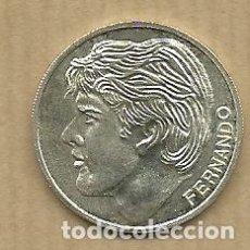 Coleccionismo deportivo: MONEDA DE PLATA 0,925 - FERNANDO CIPITRIA (REAL VALLADOLID 1996-97) - 5 GR. 25 MM DIAMETRO - NUEVA. Lote 65455730