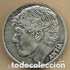 Coleccionismo deportivo: MONEDA DE PLATA 0,925 - ANTIA (REAL VALLADOLID 1996-97) - 5 GR. 25 MM DIAMETRO - NUEVA. Lote 65456314