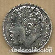 Coleccionismo deportivo: MONEDA DE PLATA 0,925 -BENJAMIN ZARANDONA (REAL VALLADOLID 1996-97) - 5 GR. 25 MM DIAMETRO - NUEVA. Lote 65456610