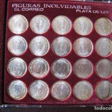 Coleccionismo deportivo: ATHLETIC CLUB FIGURAS INOLVIDABLES (PLATA DE LEY). Lote 72137195