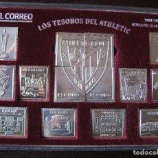 Coleccionismo deportivo: LOS TESOROS DEL ATHLETIC CLUB BILBAO 1898-1998 . Lote 72138643