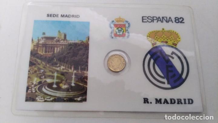 MEDALLA DEL REAL MADRID (Coleccionismo Deportivo - Medallas, Monedas y Trofeos de Fútbol)