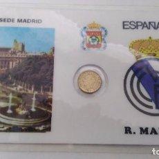 Coleccionismo deportivo: MEDALLA DEL REAL MADRID . Lote 73156455