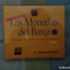 Coleccionismo deportivo: LAS MONEDAS DEL BARÇA,BARCELONA,FCB MUNDO DEPORTIVO. Lote 75260679