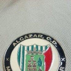 Coleccionismo deportivo: MEDALLA,CHAPA, ALCAZAR C.D.,MEDINA DE POMAR. Lote 80534489