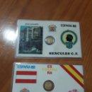 Coleccionismo deportivo: MINI MONEDAS CONMEMORATIVAS DEL MUNDIAL 82 FUTBOL. Lote 82130247
