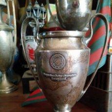 Coleccionismo deportivo: COPA DE EUROPA EN PLATA REPLICA DE JUGADOR WEMBLEY FUTBOL CLUB FC BARCELONAF.C BARÇA CF 92. Lote 82323764