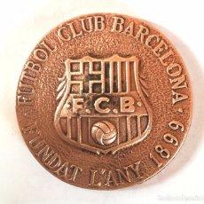 Coleccionismo deportivo: MEDALLA CONMEMORATIVA INAUGURACION MUSEU MUSEO FC FUTBOL CLUB BARCELONA BARÇA 1984 (30). Lote 84611748
