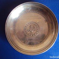 Coleccionismo deportivo: (F-170579)PLACA DE PLATA CHAMPIONS LEAGUE - BESIKTAS,3-F.C.BARCELONA,0 - FASE DE GRUPOS 19/09/2000. Lote 87711472