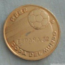 Coleccionismo deportivo: MEDALLA MUNDIAL DE FÚTBOL ESPAÑA 82. Lote 89861816
