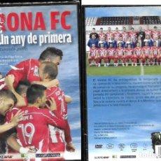 Coleccionismo deportivo: DVD * GIRONA F.C. , UN ANY DE PRIMERA * TEMPORADA 2012 /13 -PRECINTAT. Lote 90605190