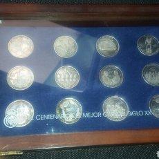 Coleccionismo deportivo: COLECCIÓN DE 12 MONEDAS CONMEMORATIVAS DEL REAL MADRID. Lote 93594153
