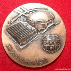 Coleccionismo deportivo: MEDALLA C.F. BARCELONA 1971 PABELLÓN POLICEPORTIVO Y PISTA DE HIELO BARÇA. Lote 94959151