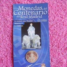 Coleccionismo deportivo: MONEDAS DEL CENTENARIO DEL REAL MADRID 6 1902 2002 DIARIO MARCA SON LAS DEL EXPOSITOR. Lote 95002075