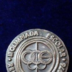 Coleccionismo deportivo: MEDALLA REUS DEPORTIVO 1976. III OLIMPIADA ESCOLAR. Lote 97228527
