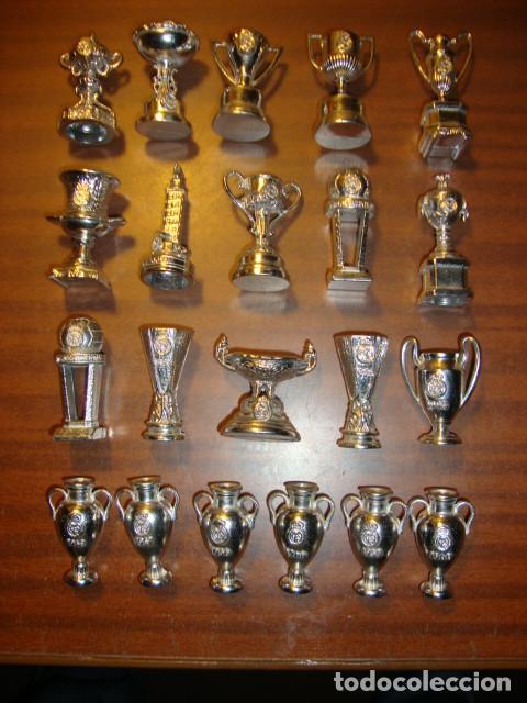 196a71ee798cd COLECCION DE TROFEOS EN MINIATURA DEL REAL MADRID CLUB DE FUTBOL  (Coleccionismo Deportivo - Medallas