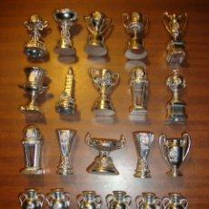 Coleccionismo deportivo: COLECCION DE TROFEOS EN MINIATURA DEL REAL MADRID CLUB DE FUTBOL. Lote 103661591