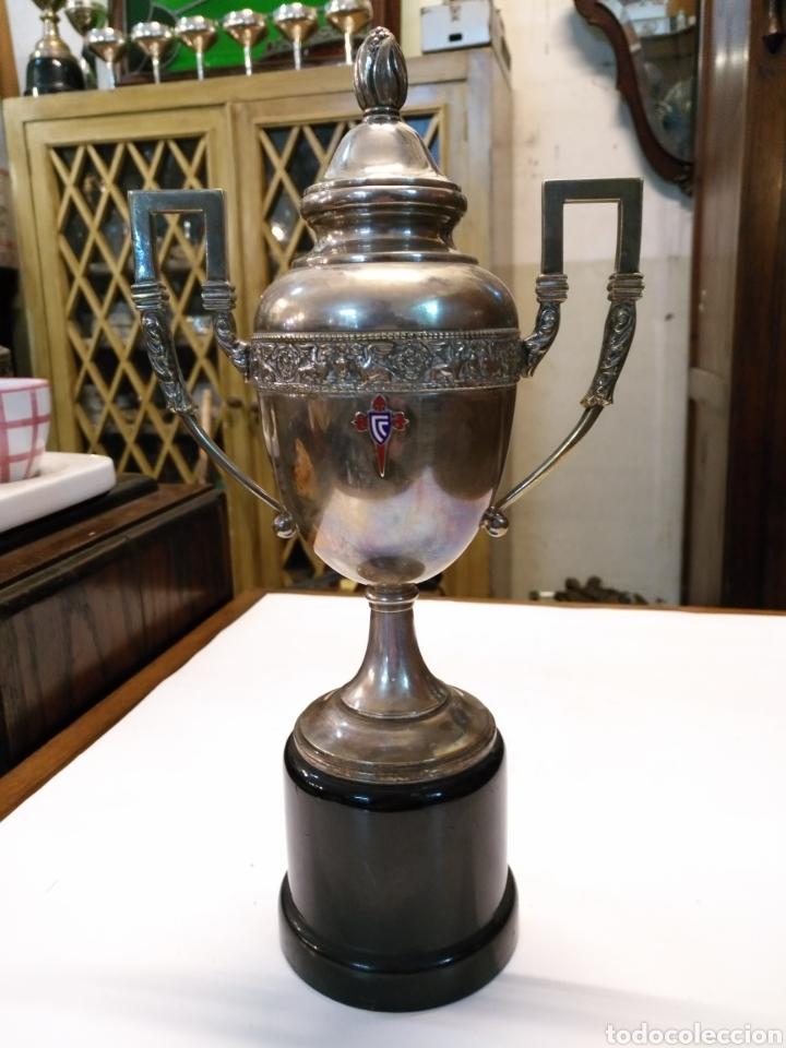 Precioso trofeo años 40 con escudo esmaltado ce - Vendido en Venta ... 9a80f0ee80673