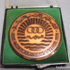 Collectionnisme sportif: MEDALLA EN CAJA - JEUX MEDITERRANEENS D´ALGER 1975 - ARGEL. Lote 151671588