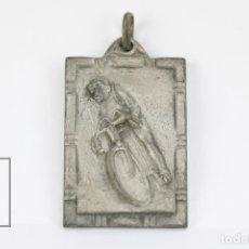 Coleccionismo deportivo: MEDALLA DEPORTIVA - CICLISMO - MEDIDAS 3 X 4,5 CM. Lote 111093074