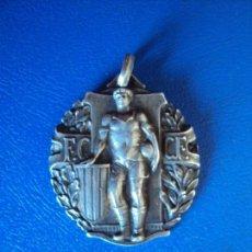 Coleccionismo deportivo: (F-180327)MEDALLA DE PLATA F.CATALANA C.FOOT-BALL C.P.DE B.CAMPIONAT DE CATALUNYA 1925-26. Lote 114339947
