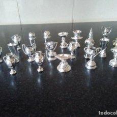 Coleccionismo deportivo: 32-LOTE DE 20 COPAS DEL REAL MADRID. Lote 119354847