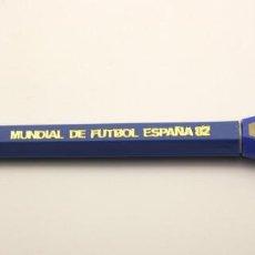 Collectionnisme sportif: BOLIGRAFO CON VISOR - MUNDIAL ESPAÑA 82 - NARANJITO - BOLI - SOUVENIR - COLOR AZUL. Lote 119499143