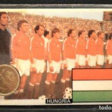 Coleccionismo deportivo: ESPAÑA MUNDIAL DE FUTBOL 1982 HUNGRIA CARNET 11X7CM MONEDA OFICIAL Y PARTIDOS. Lote 119723667
